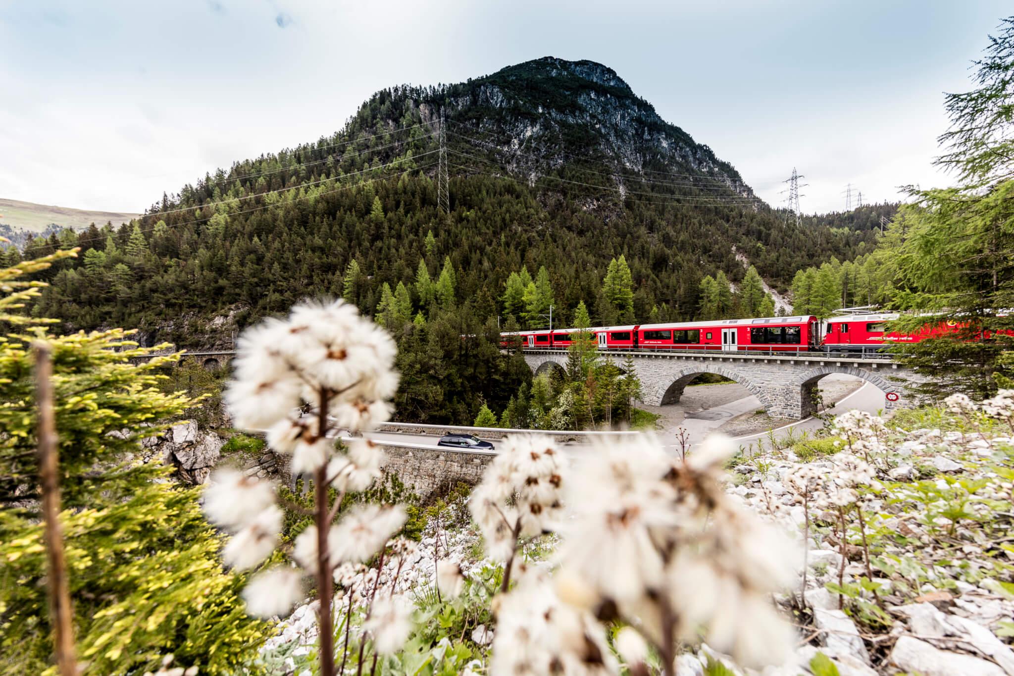 Switzerland-trains